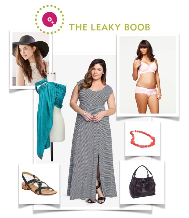 Leaky Boob Looks Boob Out Fashion 04.22.15 Nursing Chic