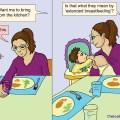Breastfeeding humor