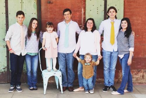 Joni Edelman, family photo