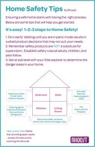 #TLBsafeKids, Home Safety Tips, newsletter