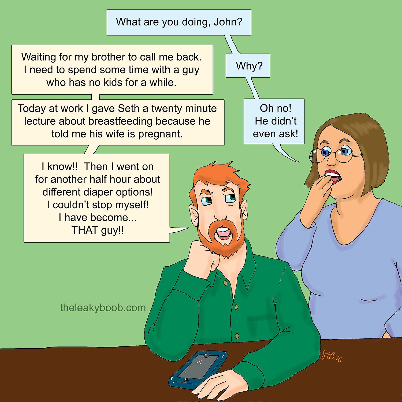 Blowjob While Breastfeeding-3516