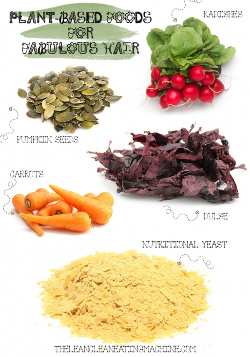Plant Based Foods For Fabulous Hair The Lean Clean