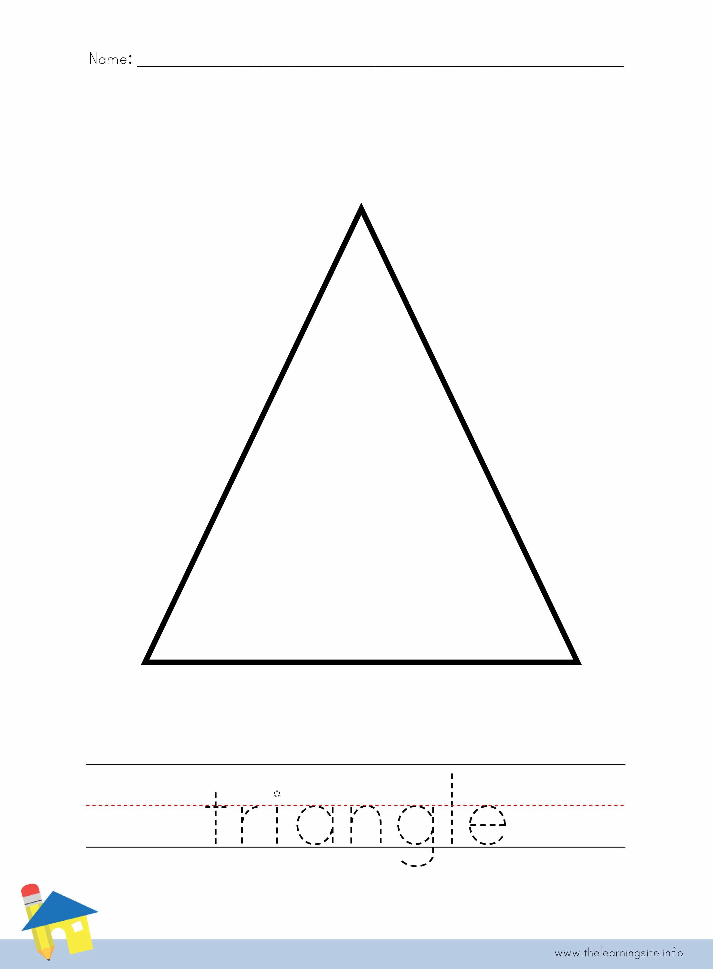 Worksheet Triangle Worksheet Worksheet Fun Worksheet