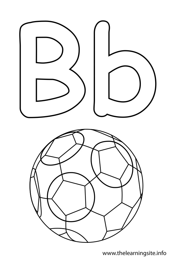 Free Outline Of Letters Coloring Pages