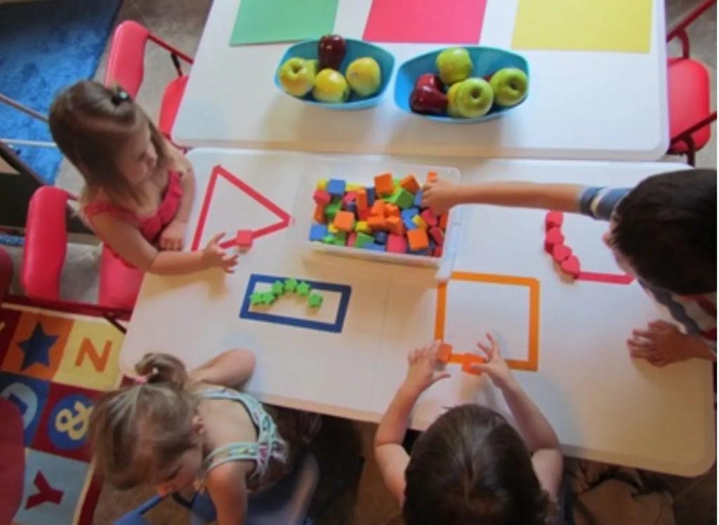 Preschooler skill