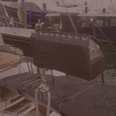 Leather Davit Protector
