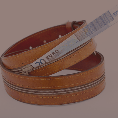 4.5cm money belt