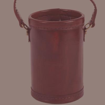 Leather gunpowder Keg
