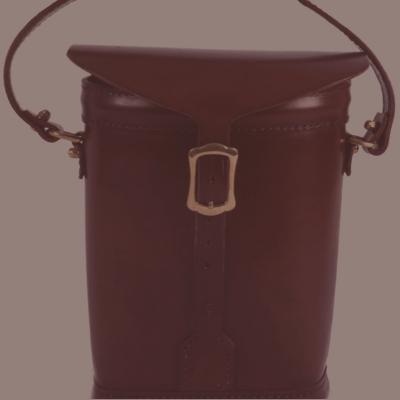 Leather twin Ammunition bag