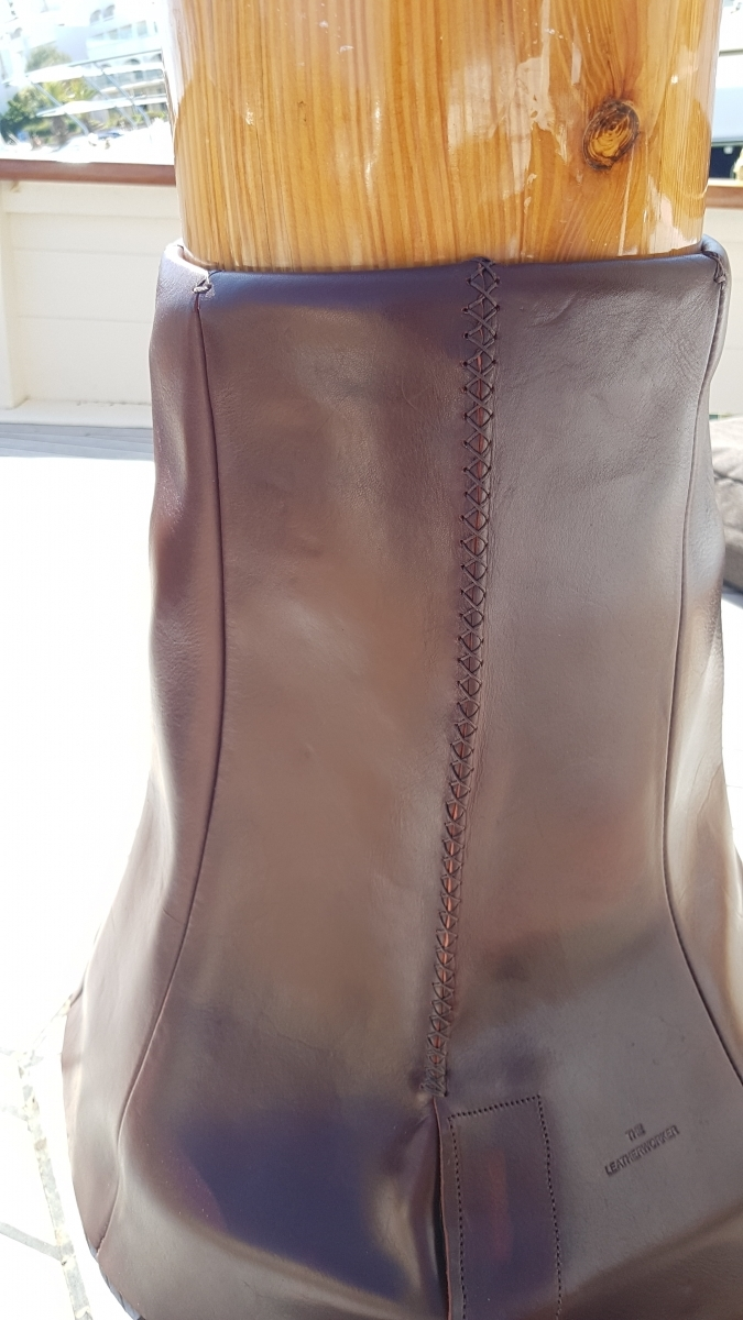 Leather Mast Boot