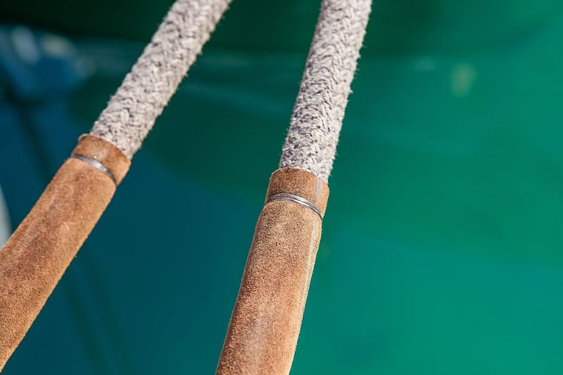 Leather Mooring Lines