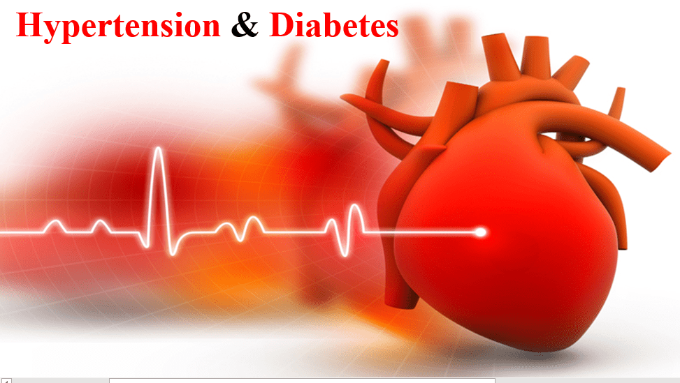 Is there a relationship between type 2 diabetes and hypertension?