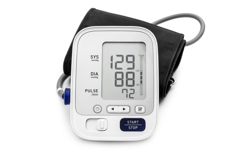 Monitor your blood pressure