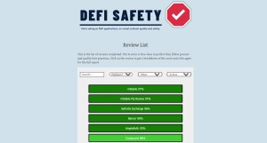 DEFY SAFETY - DASHBOARD, LIST OF PROTOCOLS
