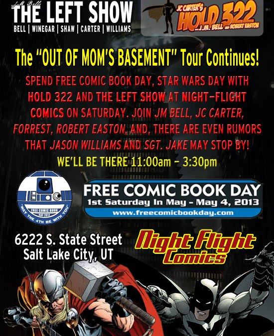 Ironman 3 Meet Ups and Free Comic Book Day May 4th 2013