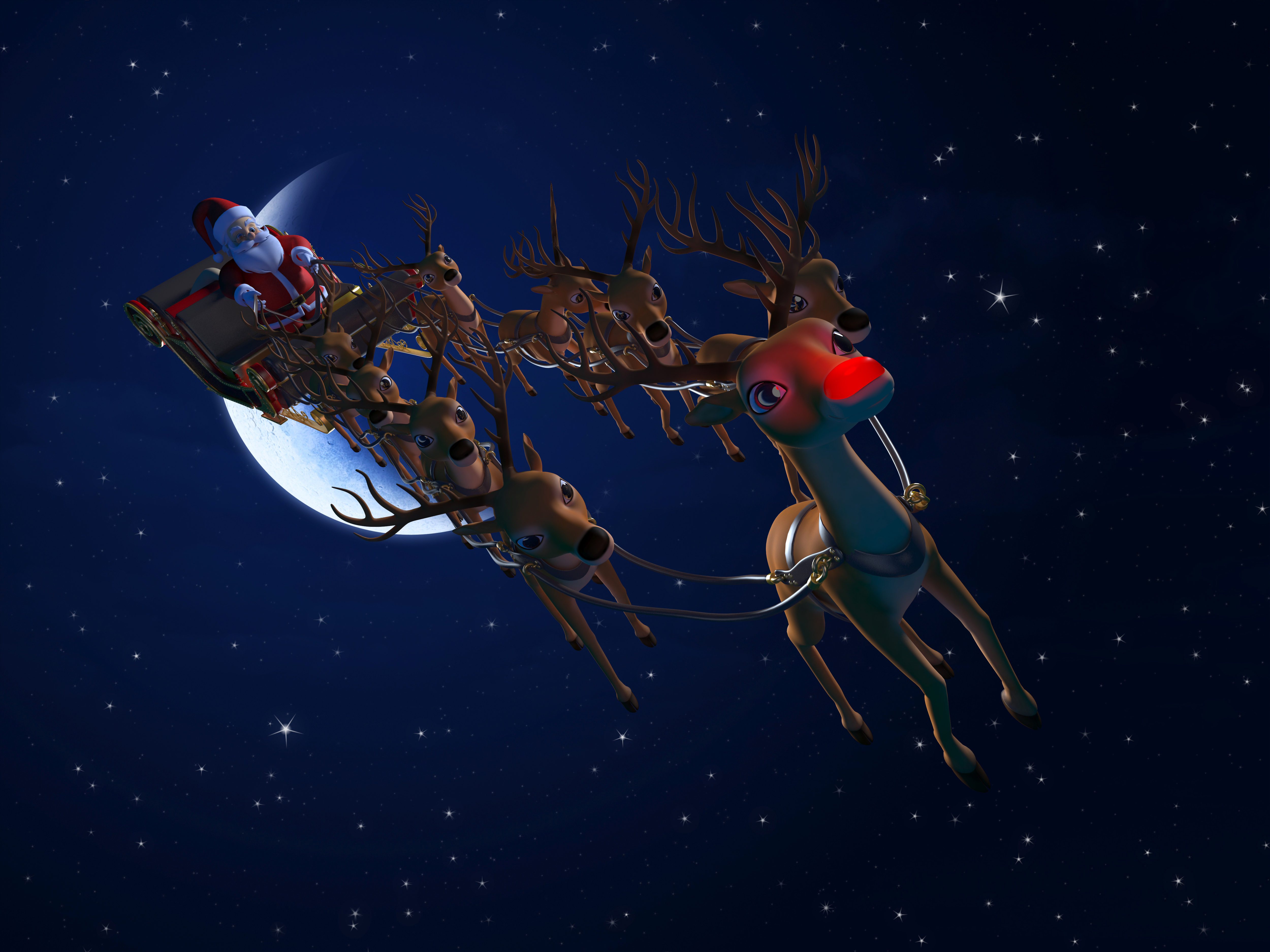 Can Rudolph the Reindeer Sue Santa Claus for Nasal ... - photo#31