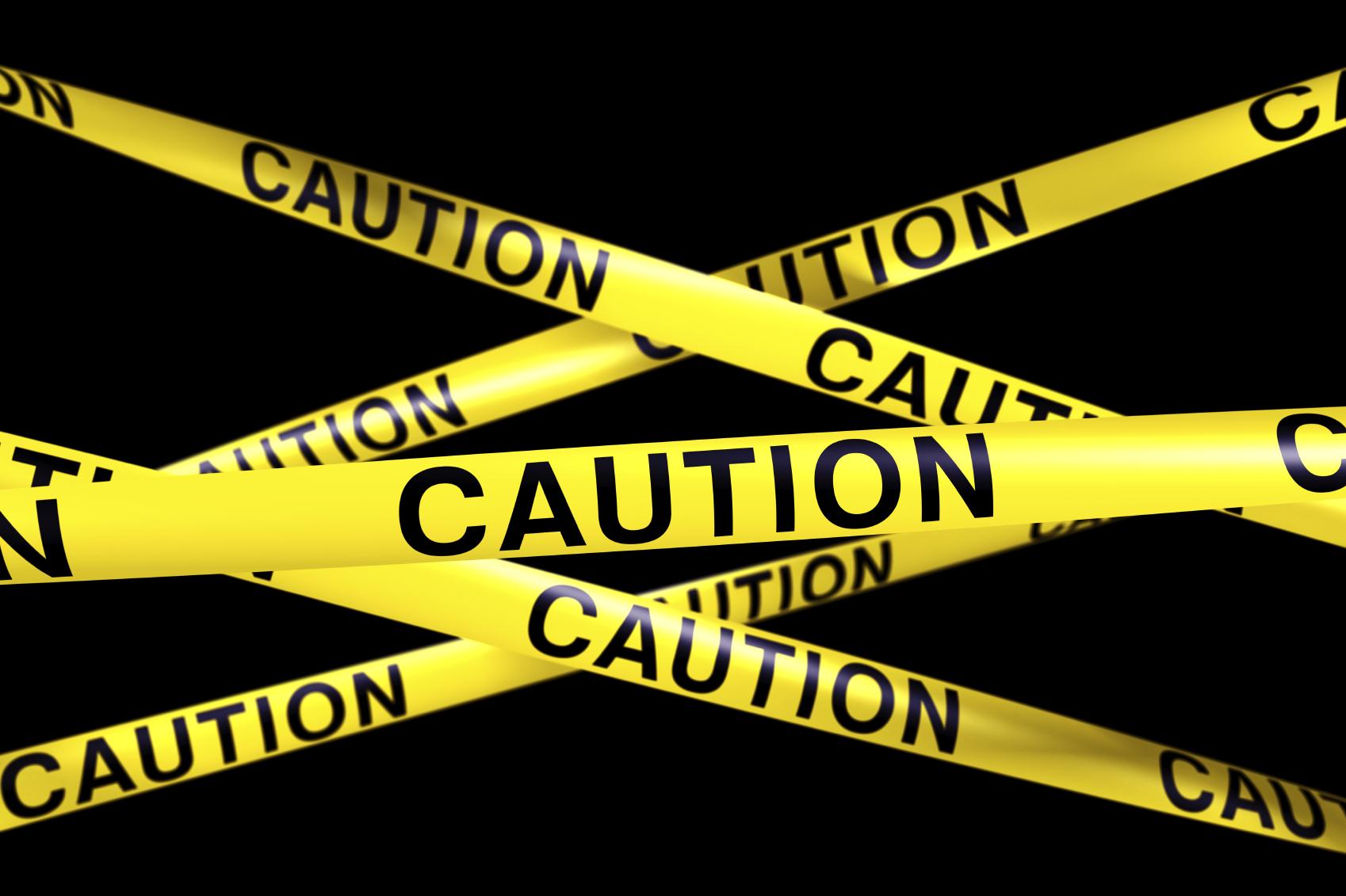 Worksheet Caution Tape