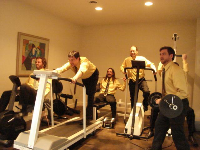 Baghdad Scuba Review workout room