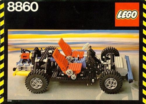 Lego Technic 8860 Review