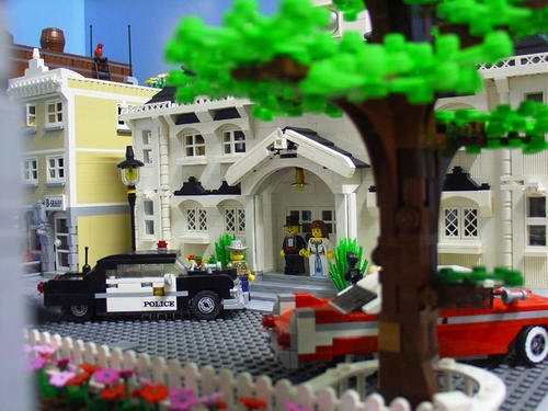 Incredible Lego Town