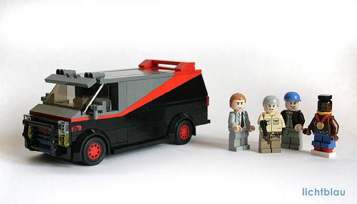 lichtblau's A-Team Van