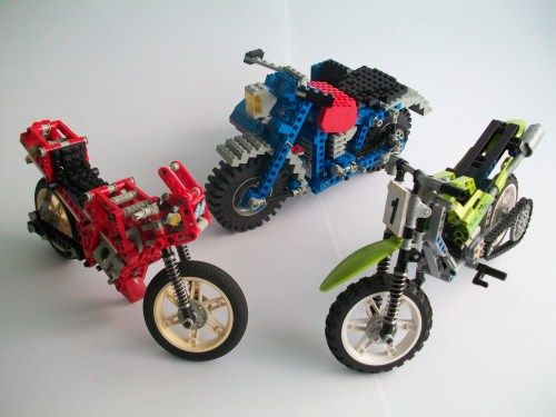 Lego Motorbikes