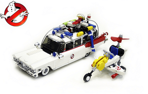 Ecto1 Ghostbusters Lego
