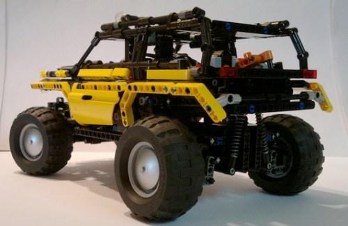Lego Rock Crawler 4x4