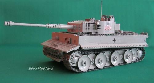 Lego Panzer Tank