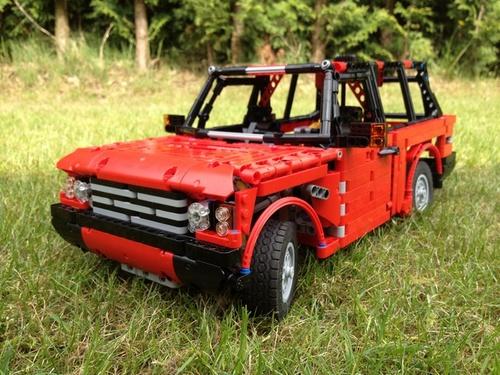 Lego Range Rover