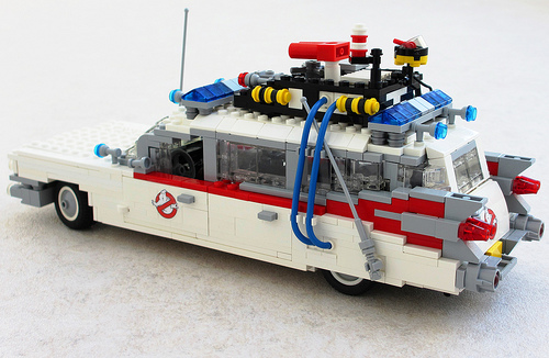 Lego Ecto1 Ghostbusters Car