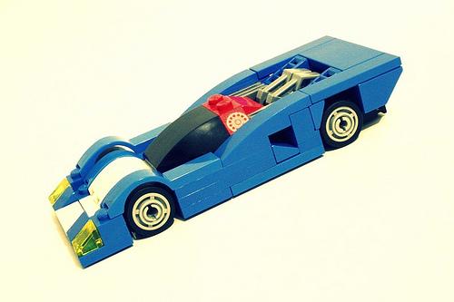 Lego Nissan GTP