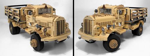 Lego Opel Blitz Truck