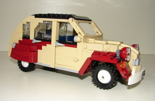 Lego Citroen 2CV Dolly