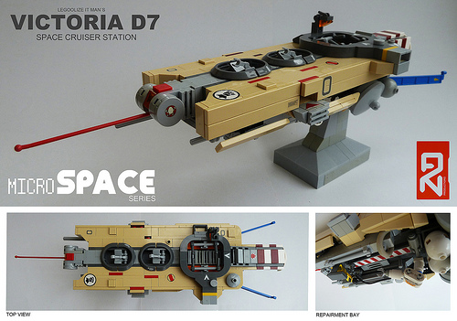 Lego Space Station Victoria