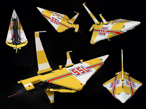Lego SSL Spaceship