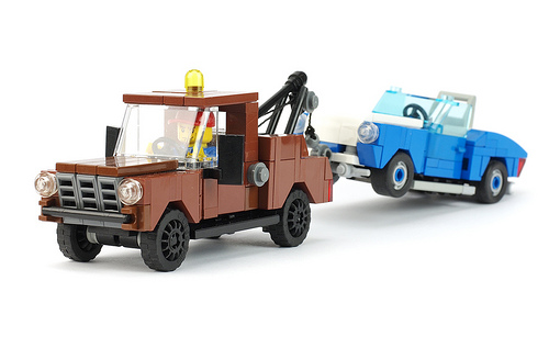 Lego Town Tow Truck