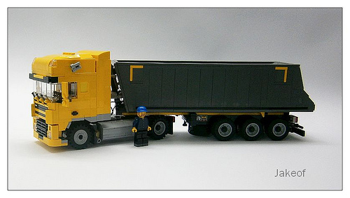 Lego DAF Truck
