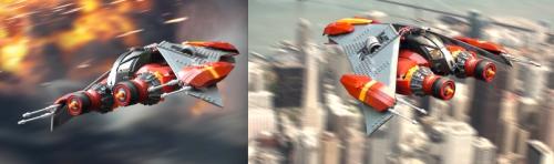 Lego Nova Spaceship