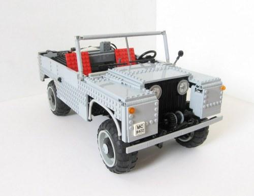 Lego Land Rover Series 1