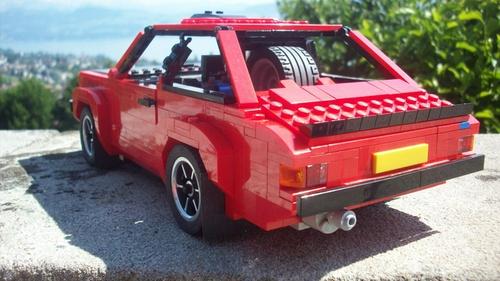 Lego Ford Escort