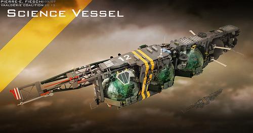 Lego Science Vessel Spacecraft