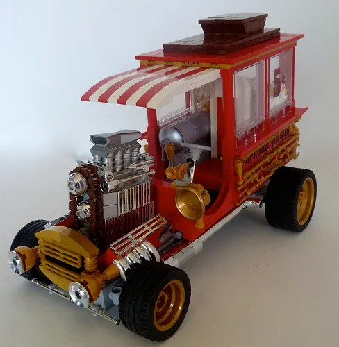 Lego Hot Rod Popcorn Waggon