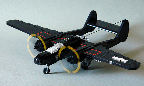 Lego Northrop P-61 Black Widow