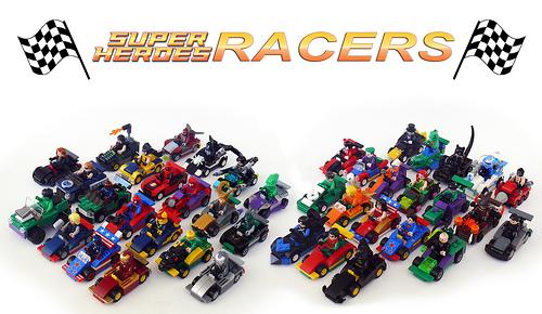 Lego Racers Superheroes
