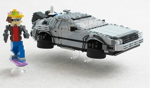 Lego DeLorean Time Machine