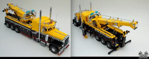 Lego Peterbilt 379 Wrecker