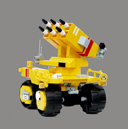 Lego Sci-Fi Rocket Launcher