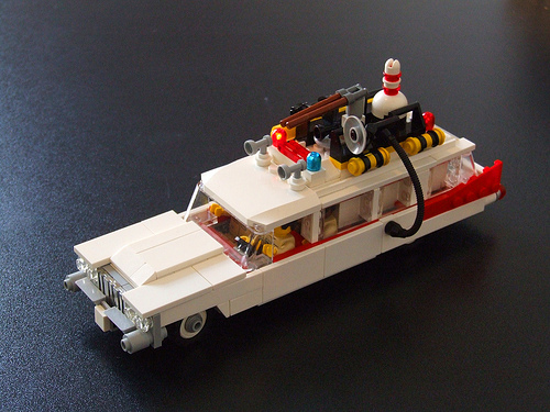 Lego Ecto1 Ghostbusters