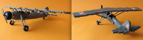 Leg Plane RWD-14 Czapla